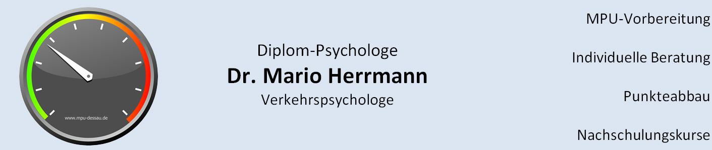 Verkehrspsychologische Praxis Dr. Mario Herrmann